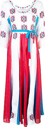 Vita Kin Vestido com padronagem - Branco