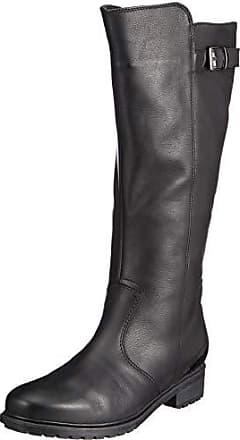 d5032eec Ara Botas Altas de Cuero Mujer, Color Negro, Talla 42 EU