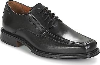 Clarks Mens Lace Up Shoes Driggs Walk - Black Leather - UK Size 10G - EU Size 44.5 - US Size 11M