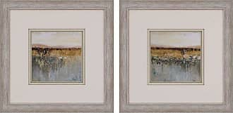 Paragon Picture Gallery Antique Contemporary Framed Wall Art - Set of 2 - 3182