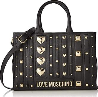 Love Moschino Borsa Pu, Womens Tote, Black (Nero), 23x32x10 cm (W x H L)