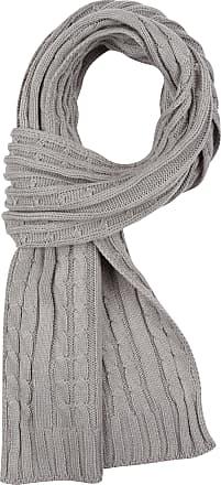 Sakkas SC1961 Ellington Unisex Knit Scarf - Cable Knit Charcoal