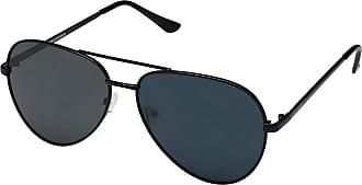 e76679d5973 Steve Madden Polarized Erica (Black Frame Smoke Lens) Fashion Sunglasses
