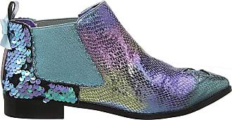 Irregular Choice Womens Starlight Empress Ankle Boots, Blue (Blue C), 6.5 (40 EU)