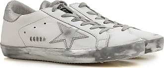 Golden Goose Sneakers for Women, Sparkle White, Leather, 2017, 10 5 6