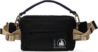 Lanvin Logoed Belt Bag Mens Black