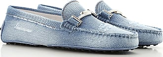 Tod's Mocassini Uomo On Sale in Outlet, Blue Denim, Denim, 2019, 36 36.5 37 37.5 38 38.5 39 39.5 40