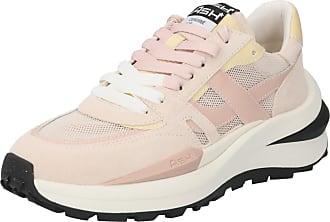 Ash Sneaker bassa Spider 620 rosa pastello / giallo chiaro / rosa antico