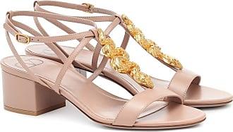 Valentino Garavani Maison Snake leather sandals