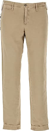PT01 Pants for Men On Sale, Beige, Cotton, 2017, 31 32 33 36