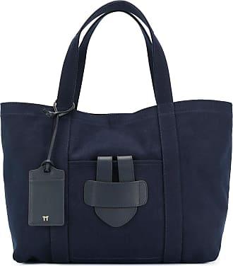 Tila March Bolsa tote grande Simple - Azul