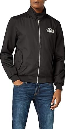 Lonsdale Mens Harrington Jacket - Black, Medium