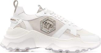 Philipp Plein Fashion Woman S20SWSC1782PLE077N01 White Leather Sneakers | Spring Summer 20