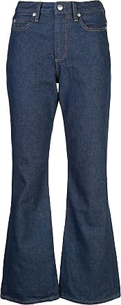 Simon Miller stitch detail flared jeans - Azul