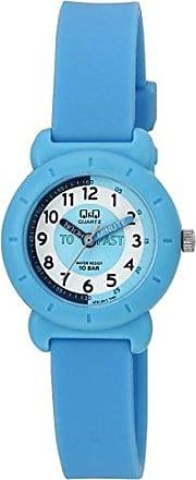 Q&Q Relógio Infantil Masculino Azul Prova DÁgua Ponteiro + NF
