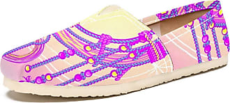 Tizorax Slip on Loafer Shoes for Women Magical Dreamcatcher with Feather Comfortable Casual Canvas Flat Boat Shoe