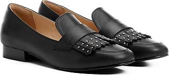 77150a998e Shoestock Mocassim Couro Shoestock Franja Apliques Feminina - Feminino