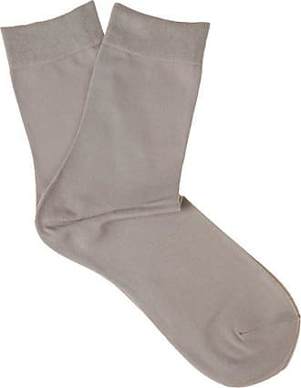 Falke Touch Cotton-blend Socks - Womens - Light Grey