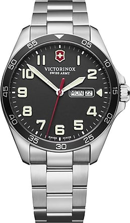Victorinox by Swiss Army Relógio FieldForce 42mm - Homem - Prateado - 42mm CH