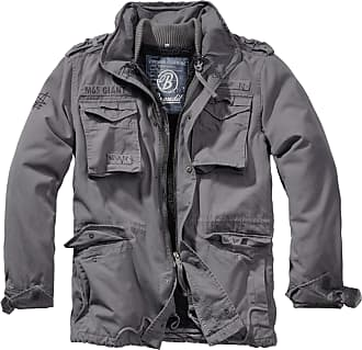 Brandit Jacket M65 Giant, Size:4XL, Color:Charcoal Grey