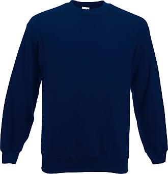 Fruit Of The Loom Mens Classic Drop Shoulder Sweatshirt Navy XXL