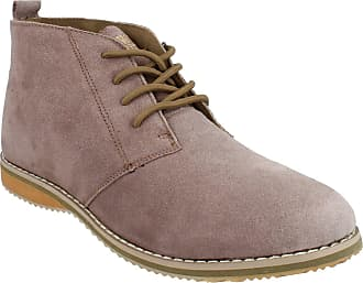 Northwest Territory Mens Suede Leather Lace Up Desert Ankle Casual Formal Boots Camel UK 8 EU 42