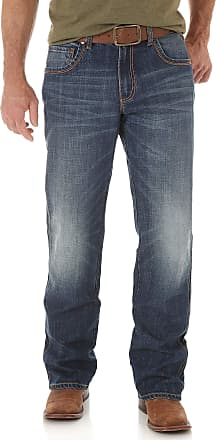 Wrangler Mens Retro Relaxed-Fit Bootcut Jean, Jackson Hole, 35x36