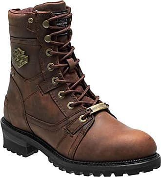 5717fcb6c66 Harley-Davidson Mens Haines 7-Inch Motorcycle Boots D93523 (Brown