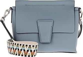 Gianni Chiarini Elettra Crossbody Bag Soft Blue Umhängetasche blau