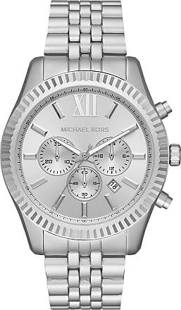 Michael Kors Lexington Men Watch Silver