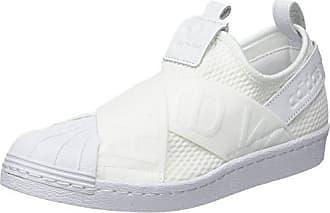 Femme 42 Blanc adidas Ftwbla Negbas Chaussures Fitness 000 EU Slipon W Superstar de RRYU0TB