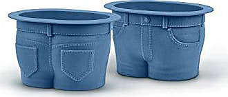Fred Perry MUFFIN TOPS Denim-Style Baking Cups, Set of 4