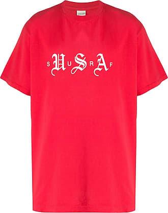Noon Goons Camiseta mangas curtas Surf USA - Vermelho