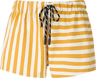 Osklen Summer Stripe shorts - Yellow