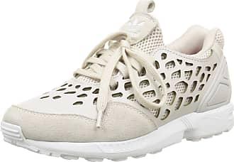 adidas Originals ZX Flux LACE Beige Women Sneakers Shoes