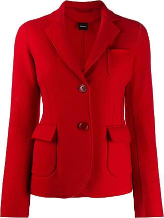 Aspesi patch pocket blazer - Vermelho