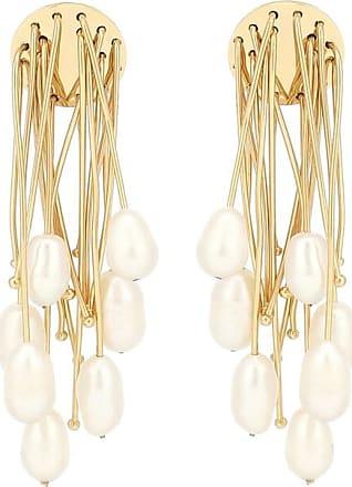 Jil Sander Pearl-embellished earrings