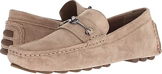 ba489b818f5 Coach Crosby Turnlock Driver Suede (Oat Brown) Mens Shoes