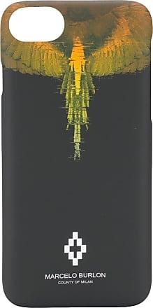 Marcelo Burlon Capa Wings para iPhone 8 - Preto