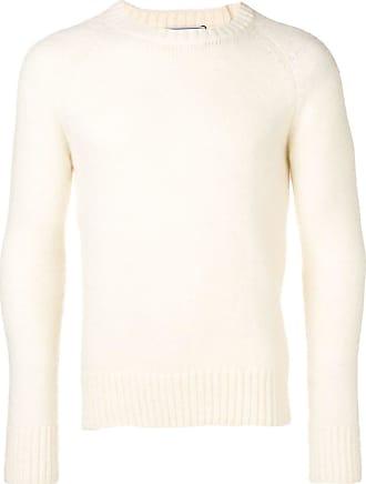 Ami Suéter com decote e mangas raglan - Branco