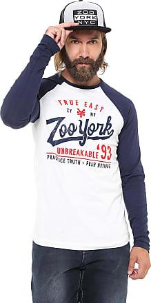 Zoo York Camiseta Zoo York Astor Raglan Branca