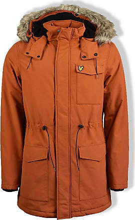 Lyle & Scott Lyle and Scott Men Winterweight Microfleece Lined Parka - XXL