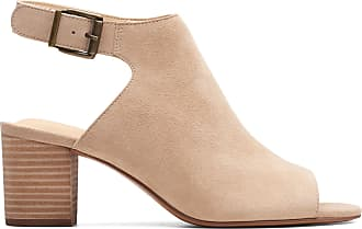 Clarks Womens Sandal Sand Suede Clarks Deloria Gia Size 6.5