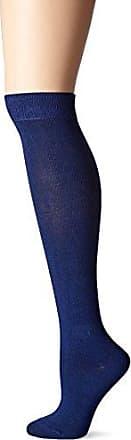 Ozone Womens Pima Cotton High Zone Sock Navy, 9-11