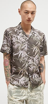 French Connection Bamboo Print Lyocell Shirt