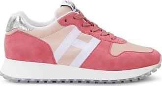 Hogan Sneakers H383, WEISS,ROSA, 35.5 - Schuhe