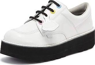 Kickers Kick Lo Stack Womens White Shoes-UK 4 / EU 37