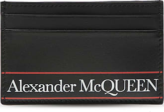 Alexander McQueen Card Holder Mens Black