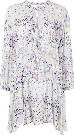 Iro Vestido Persica com estampa geométrica - Azul