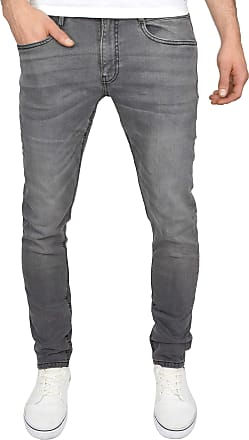 Duck and Cover Men's Bootcut Flared Wide Bottom Loose Fit Denim Jeans